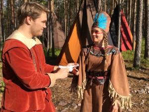 John Smith ja Pocahontas
